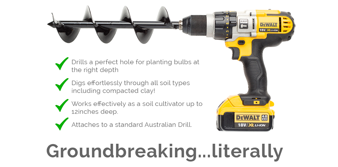 power planter australia the new easy way to dig your garden