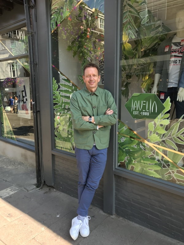 Meet the Stockists | Jeremy from Javelin