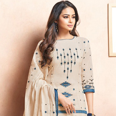 Printed Cotton Salwar Suits for Summer