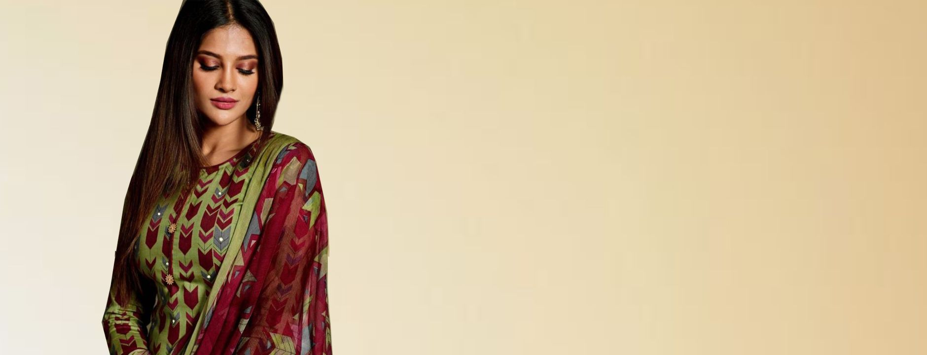 Prints on Salwar Kameez