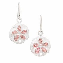 Small Sand Dollar Dangle Earrings | Alexandra Mosher Studio Jewellery