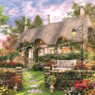Country Cottage 1000 piece jigsaw puzzles