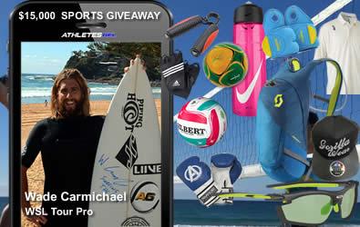 Enter Athletes Gel $10,000 Sports gear giveaway