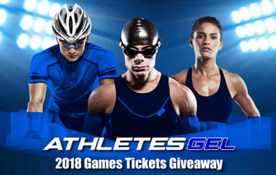 Athletes Gel 2018 Commonwealth Games Giveaway- 8 nights and 8 finals tickets for 2