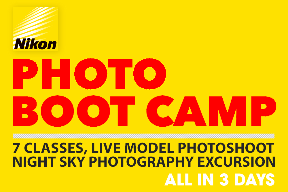 Nikon Photo Boot Camp