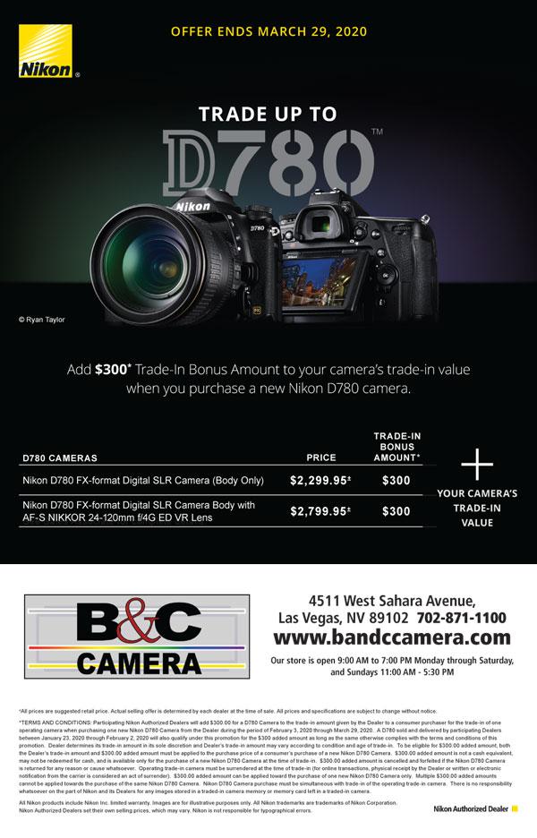 Shop Nikon D780