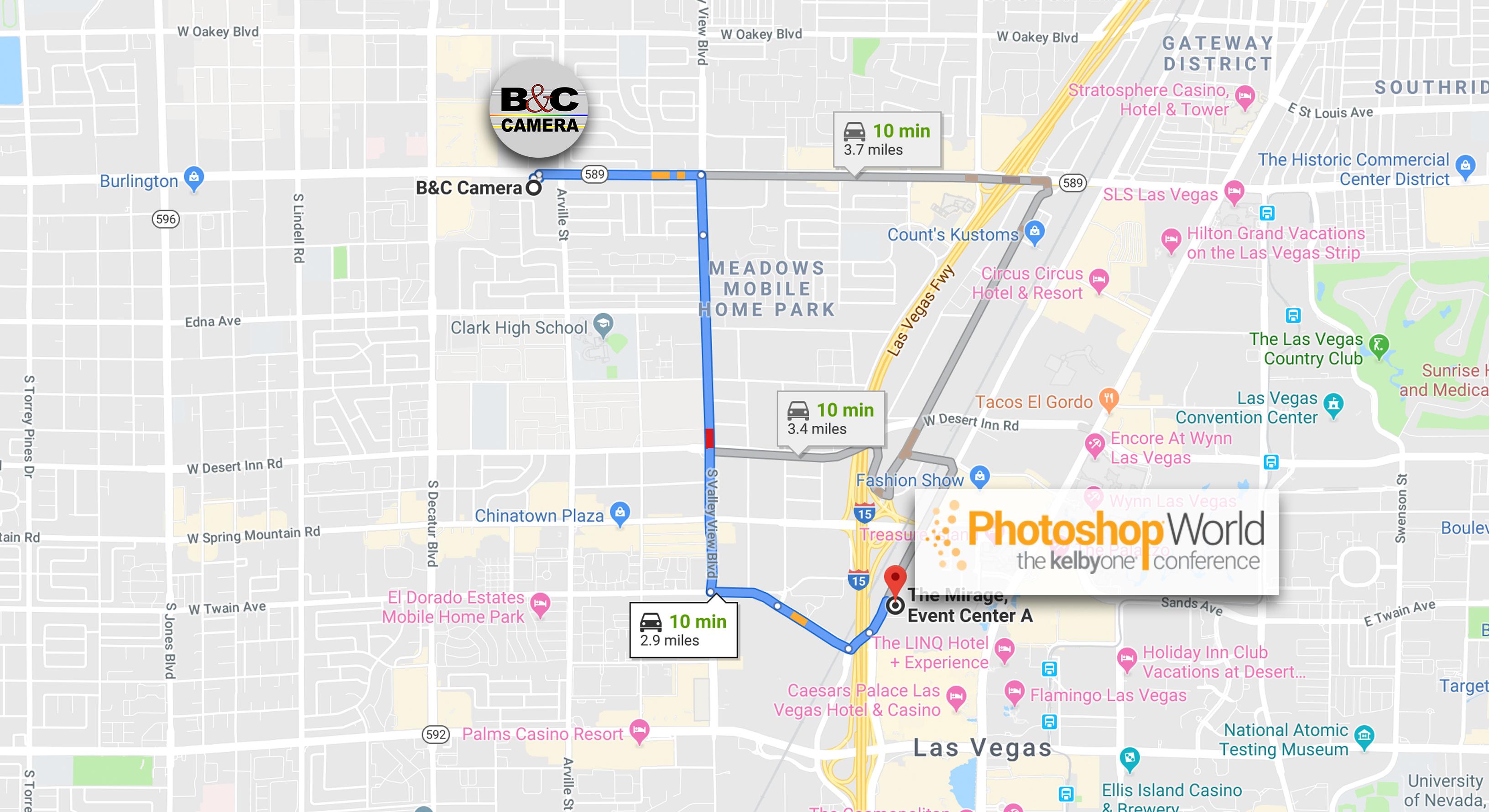 Photoshop World Map