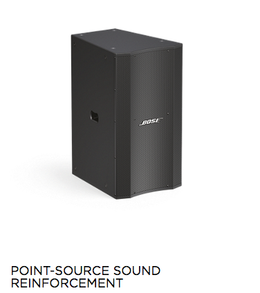 Bose Professional | Point-Source Sound Reinforcement | India | Bhalerao Enterprises