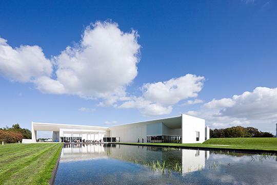 Heart museumsbygning I Herning Flot arkitektur i naturskønt område Birkmond samarbejdspartner forhandler af lædertasker