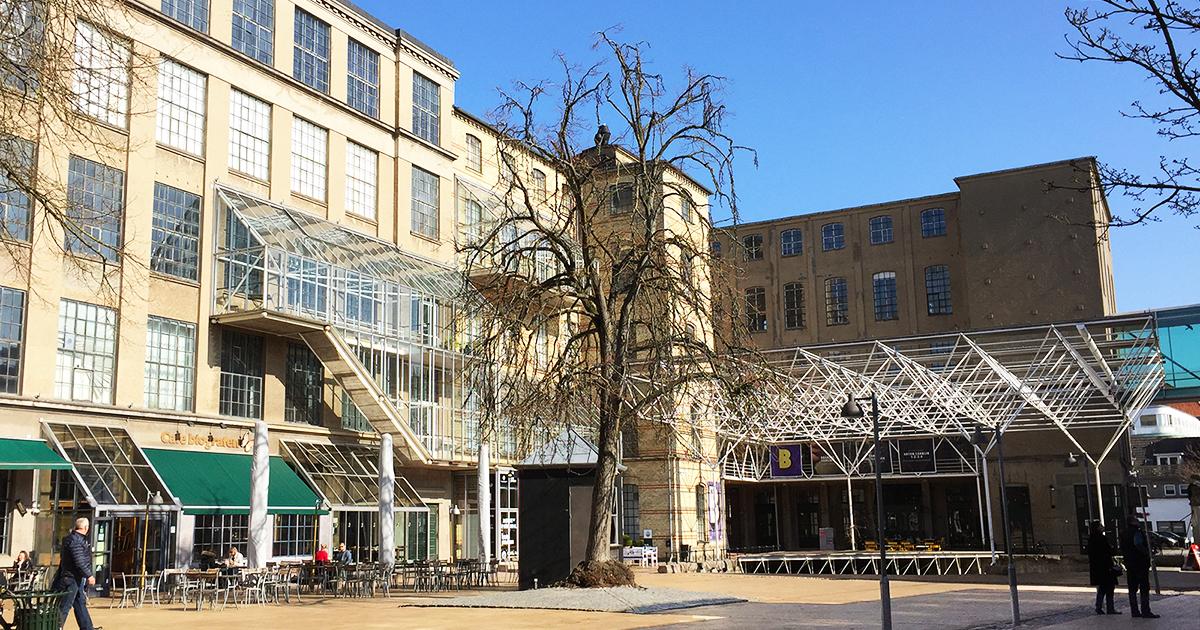 Brandts museum i Odense kunstmuseum Birkmond samarbejdspartner Smuk bygning midt i centrum
