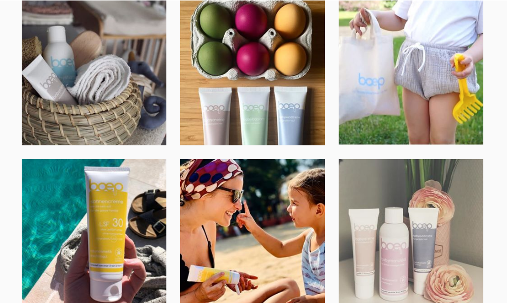 Bleibe auf Instagram über die vegane Naturkosmetik von das boep auf dem Laufenden!