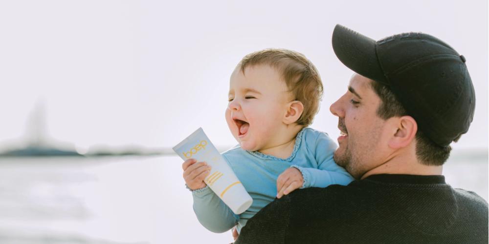 Natürliche, mineralische Bio Sonnencreme Sensitiv für Babys und Kinder