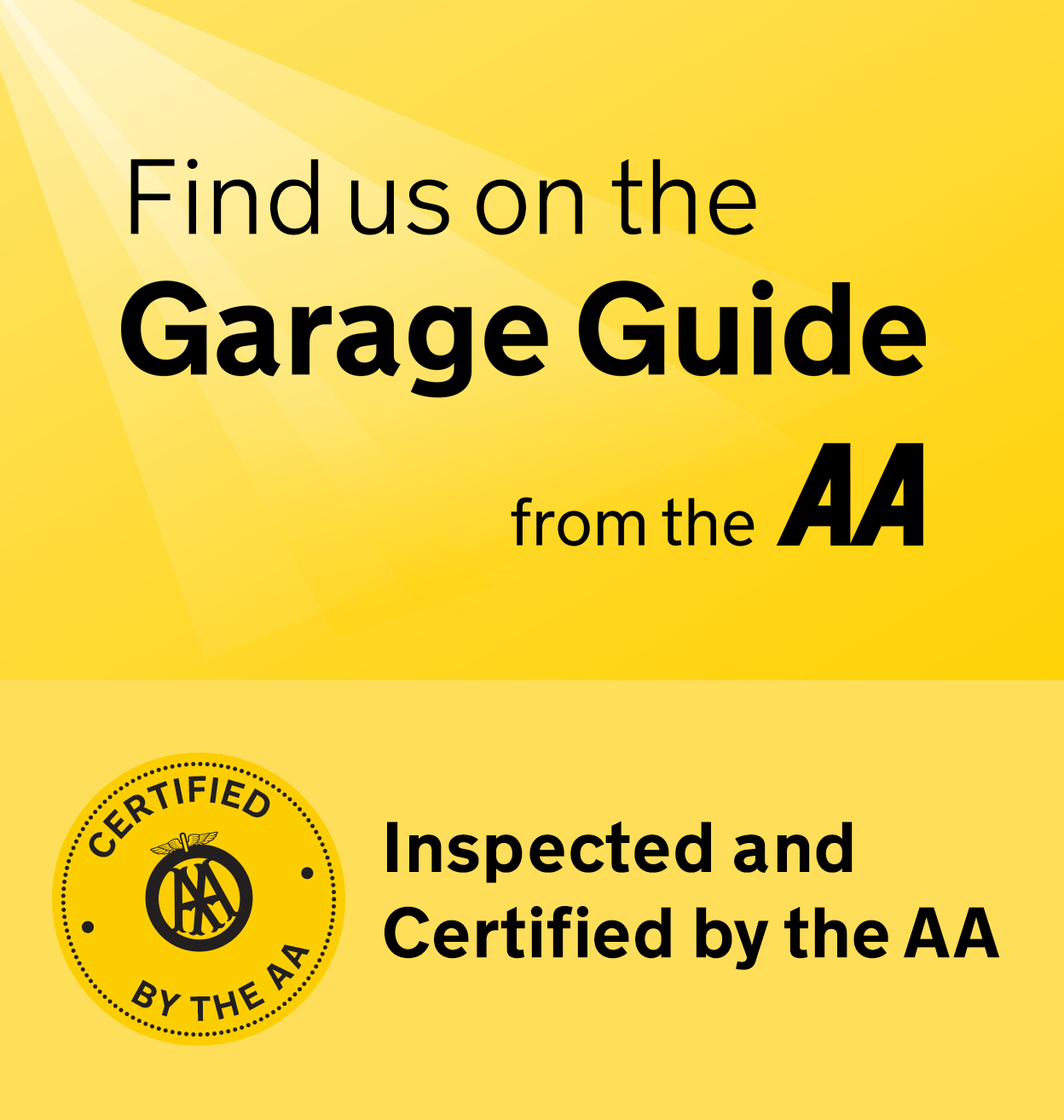 AA approved car garage colchester