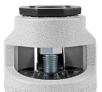 Leveling Casters | Nut for Open-Ended Wrench Adjustment