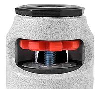 Leveling Casters | Manual Thumb Wheel Adjustment