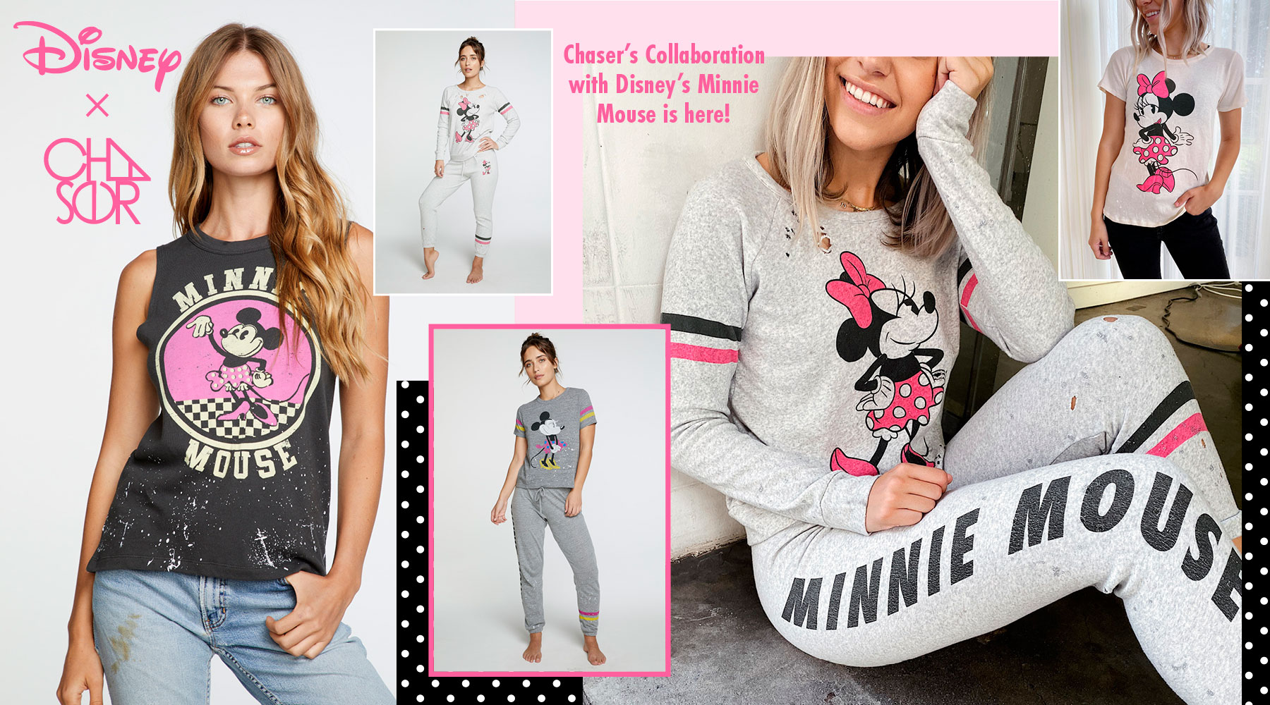 Check out all of Chaser and Disney's collaborations, including Disney's Minnie Mouse, Disney's the Little Mermaid, Disney's Frozen II and Star Wars!