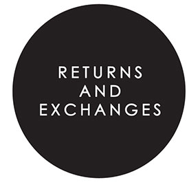 Chaser's Return and Exchange Policy