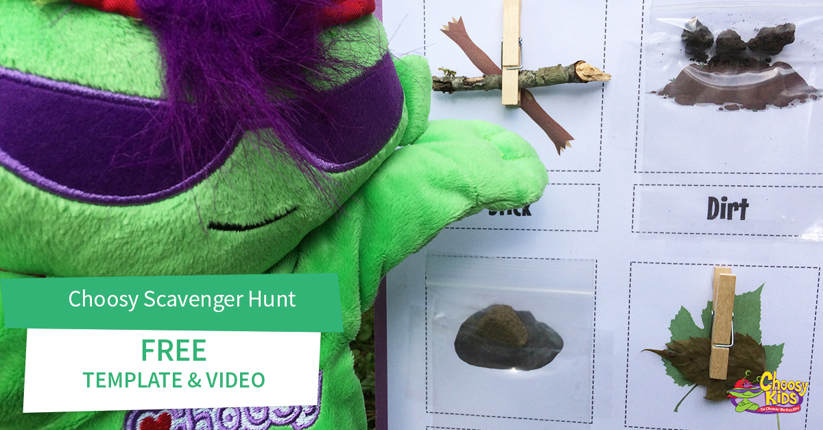 Choosy Scavenger Hunt with Free Video