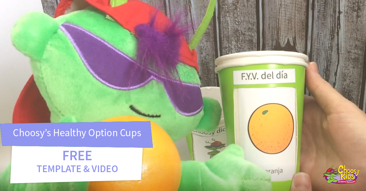 Choosy's Healthy Habit Cups with Free Video