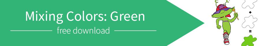 Mixing Colors: Green
