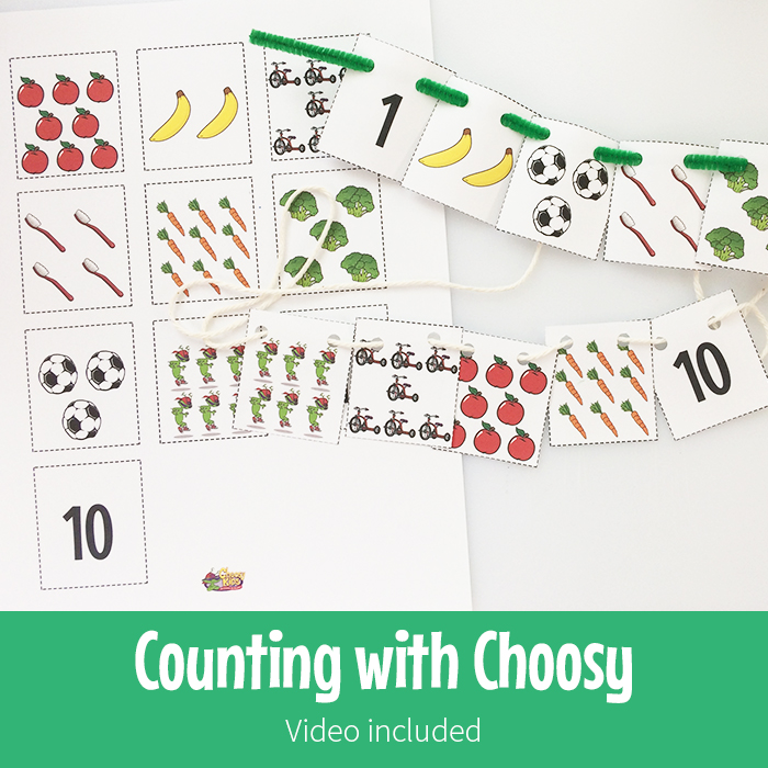 Counting with Choosy