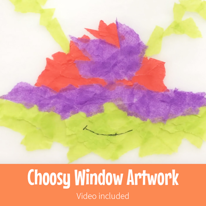 Choosy Window Artwork