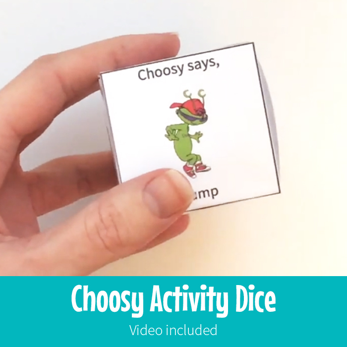 Activity Dice Gross Motor