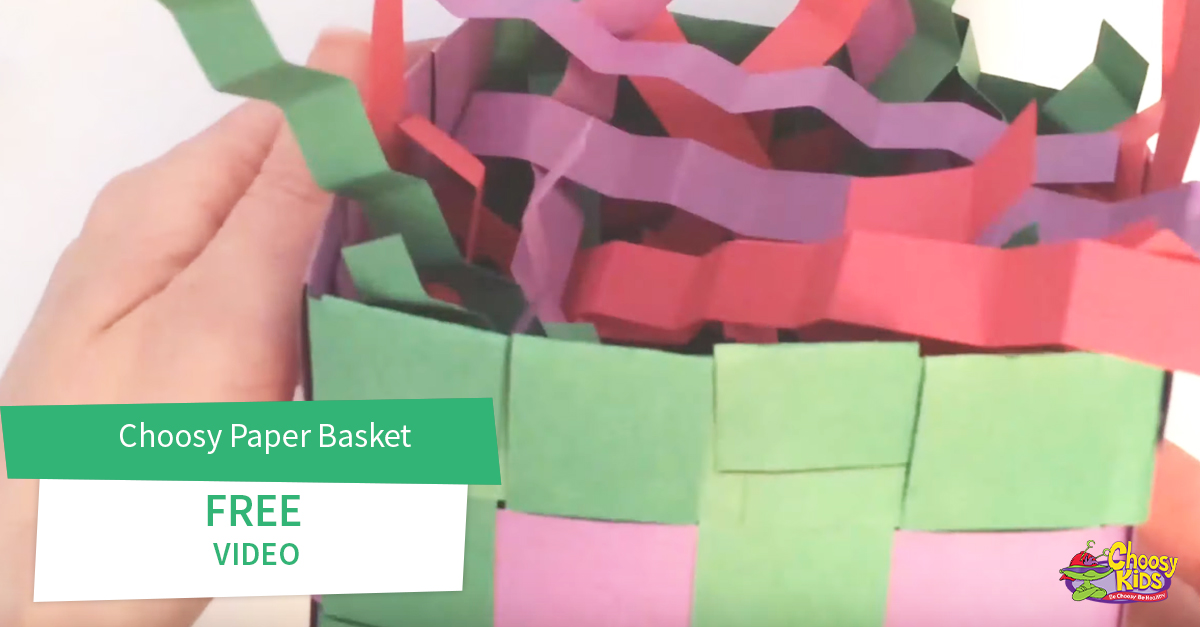 Choosy Paper Basket