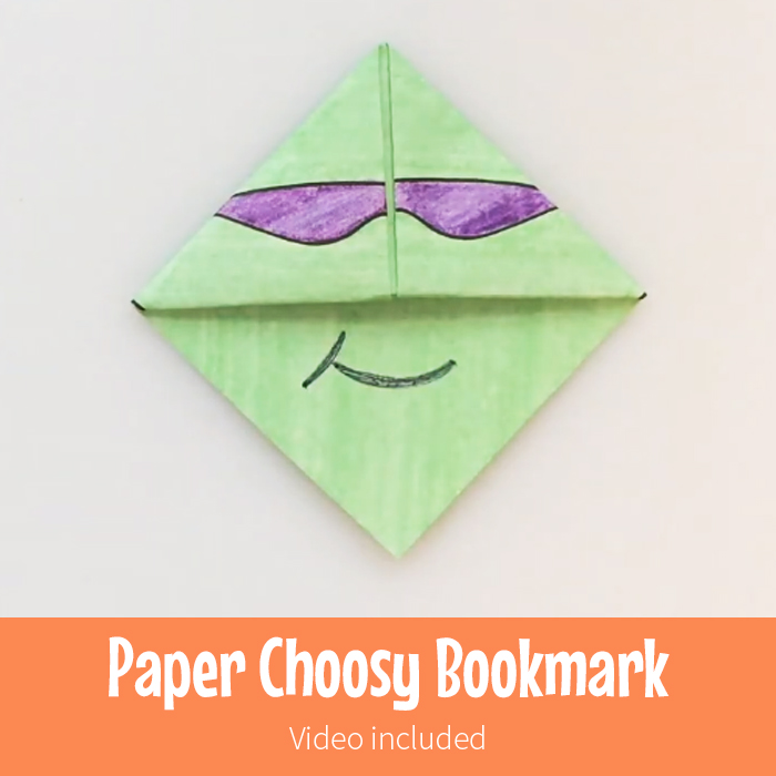 Choosy Kids Bookmark