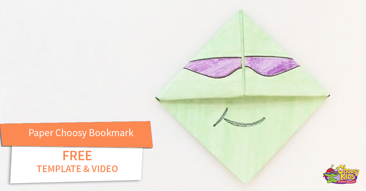 Paper Choosy Bookmark with Free Video