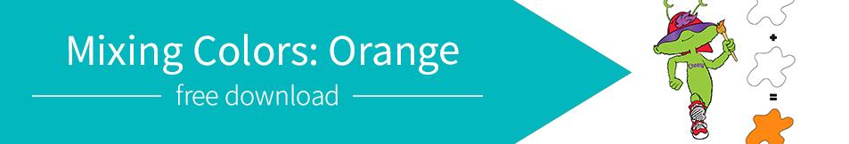 Mixing Colors: Orange