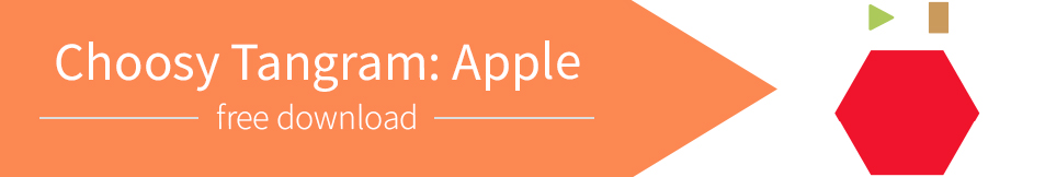 Choosy Tangram: Apple