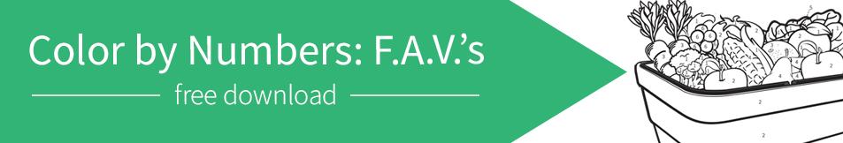 Color By Number F.A.V.'s