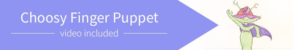 Choosy Finger Puppet