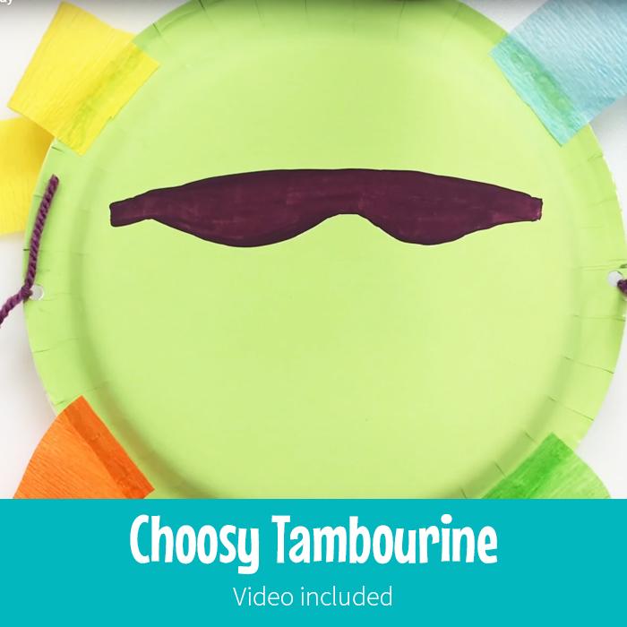 Choosy Tambourine
