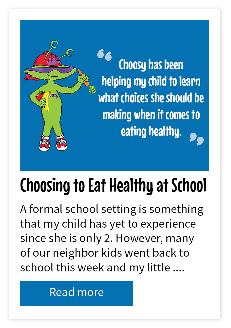Choosing to Eat Healthy at School