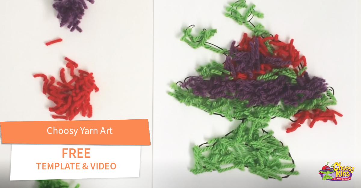 Choosy Yarn Art with Free Video