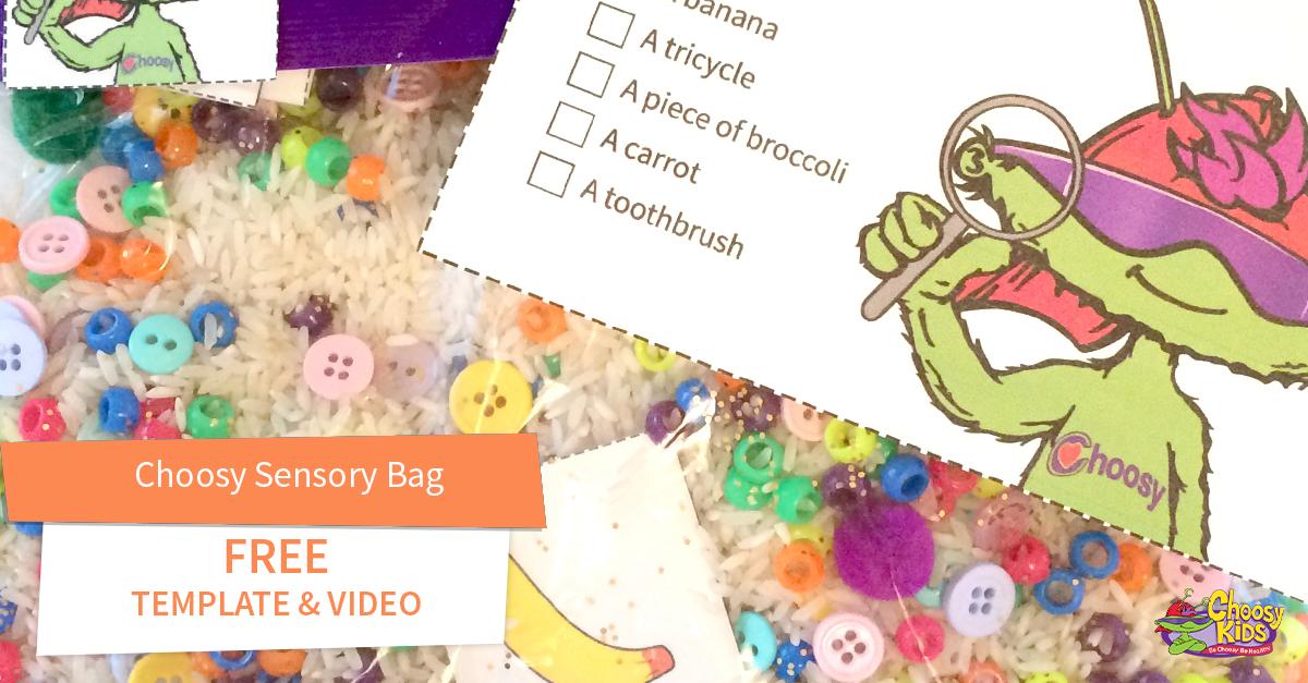 Choosy Sensory Bag with Free Video