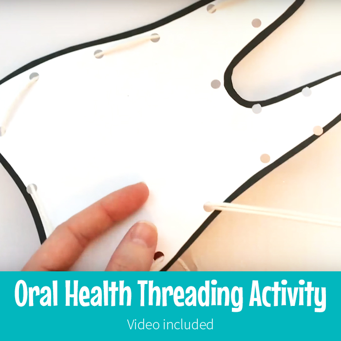 Oral Health Tooth Threading
