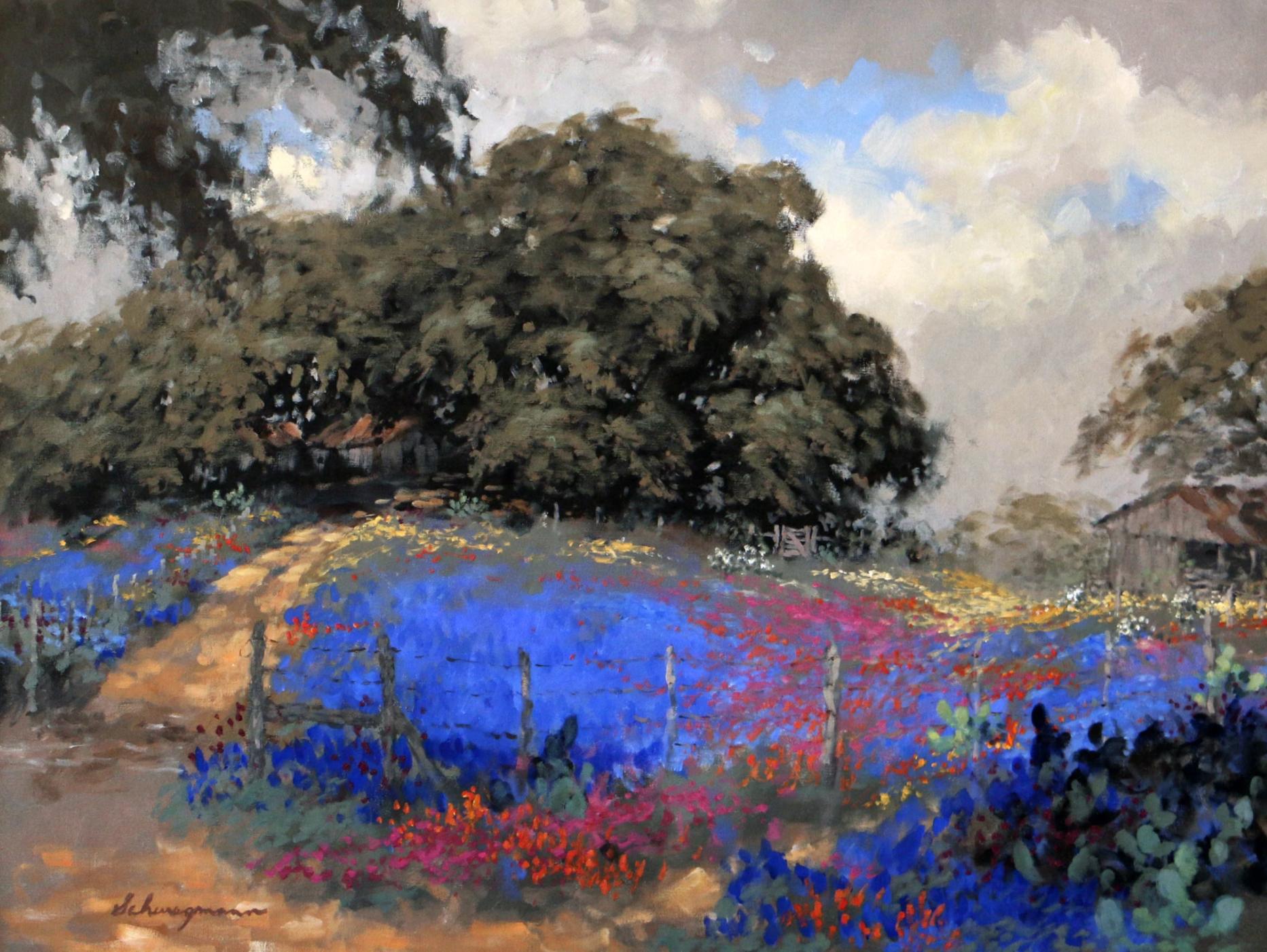 George Schwegmann - Awash In Blue