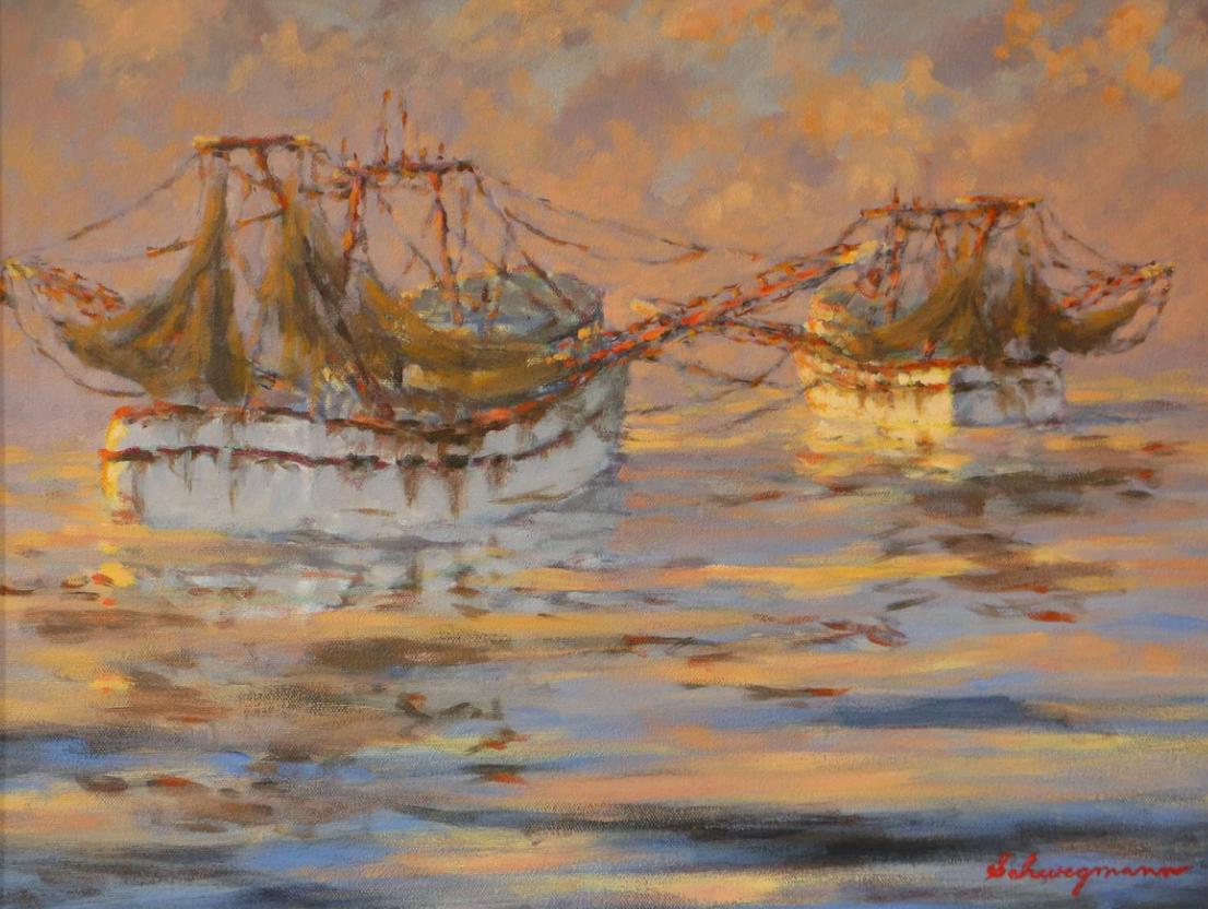 George Schwegmann - Drying Nets