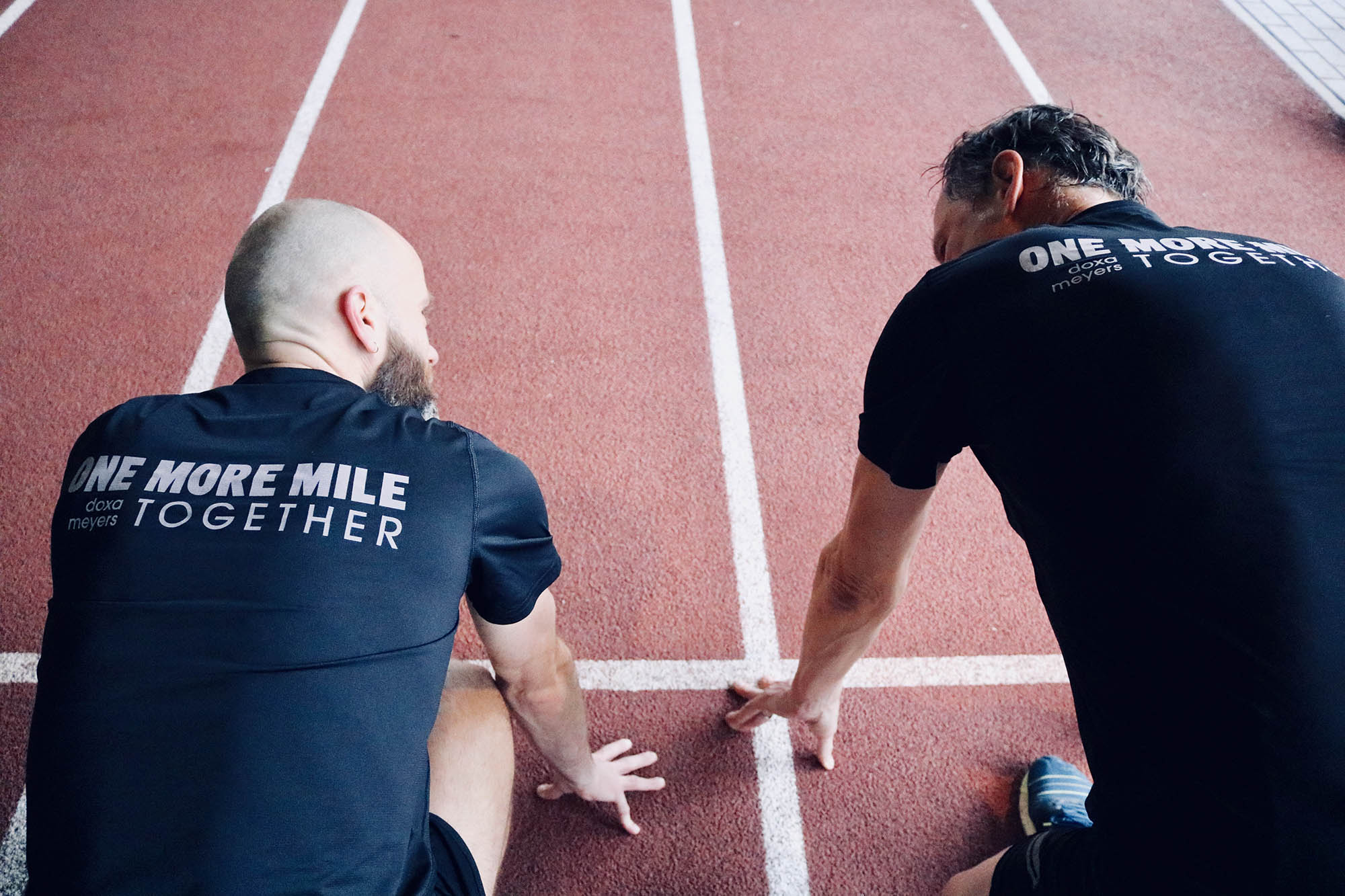 DOXA RUN - MEYERS - ONE MORE MILE TOGETHER CHARITY PROJECT