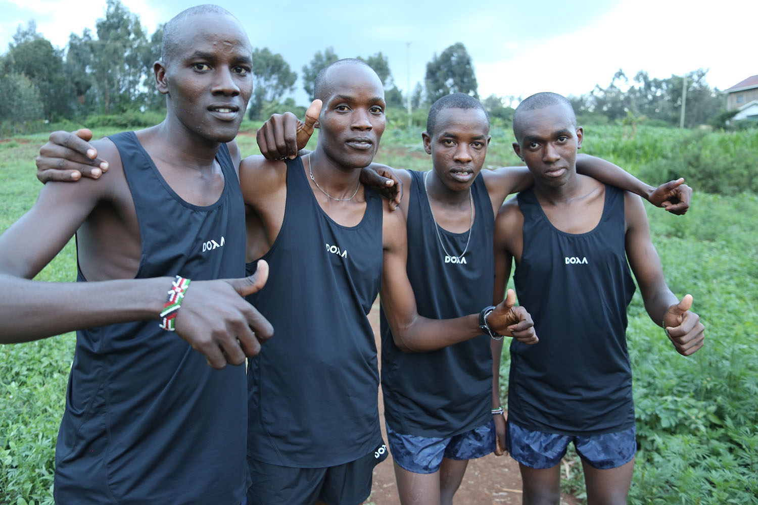 DOXA run is supporting running talents from The Kenswed Academy with running apparel each season.