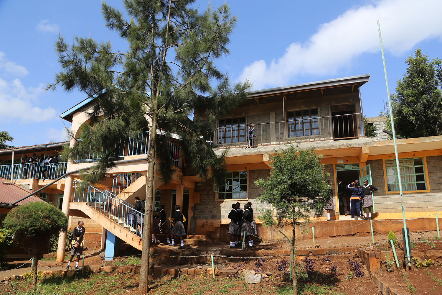 The Kenswed Academy is located outside of Nairobi in Kenya.