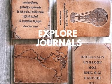 Leather Journals By Soothi
