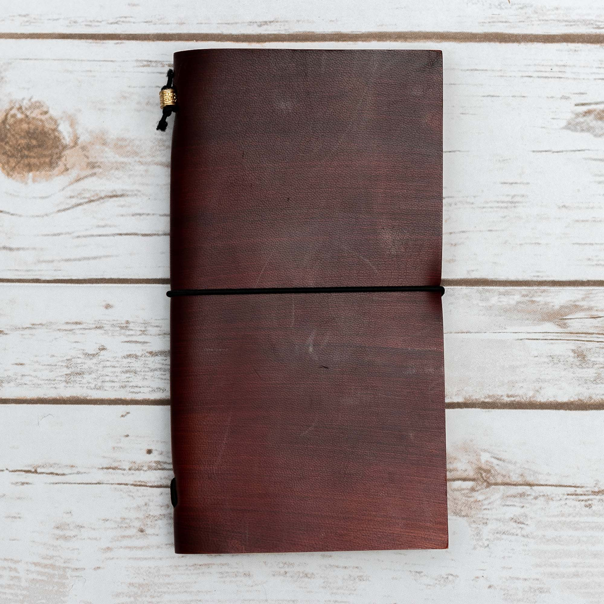CUSTOM TRAVELER'S LEATHER JOURNALS - TRAVELER'S JOURNALS