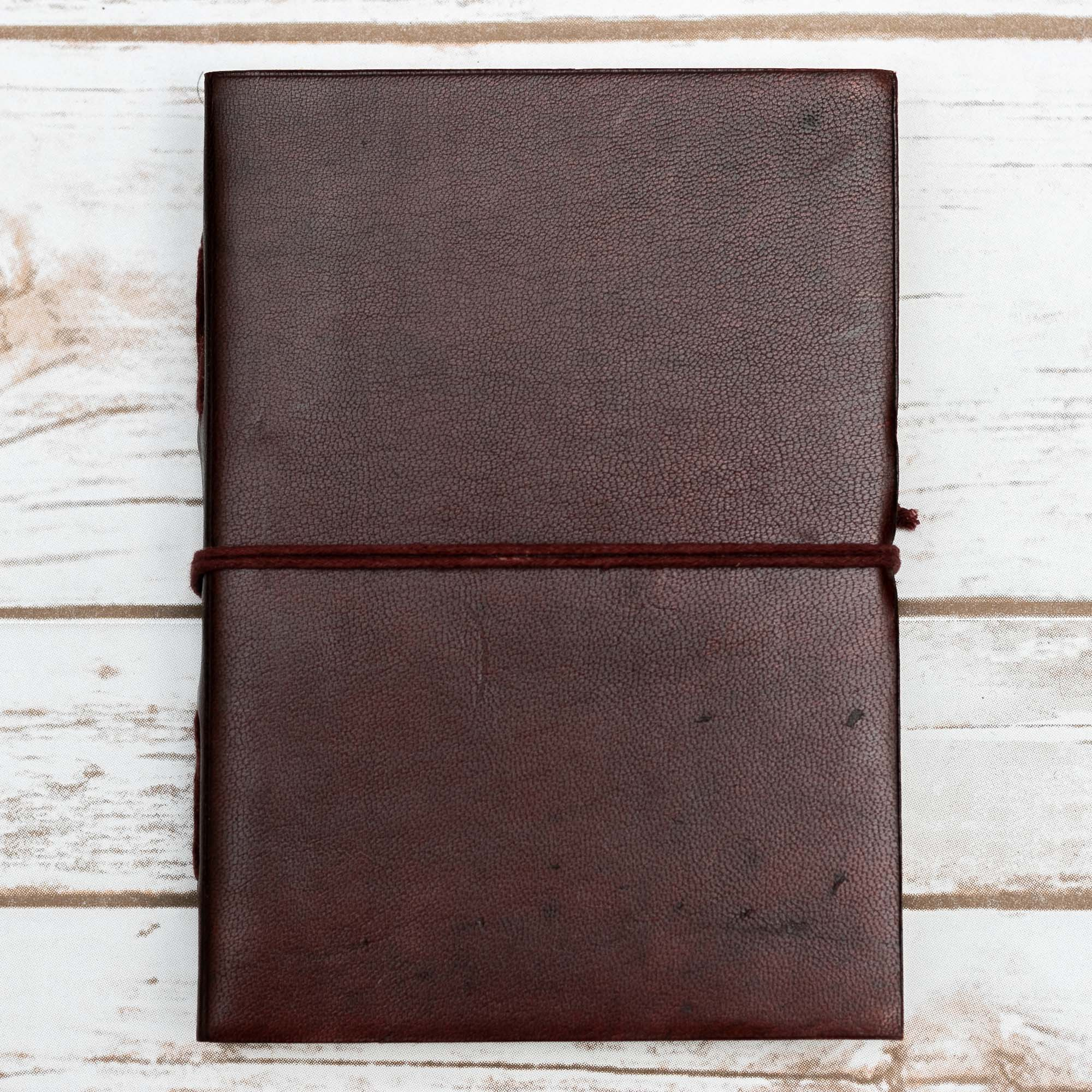 CUSTOM LEATHER JOURNALS - 5X7
