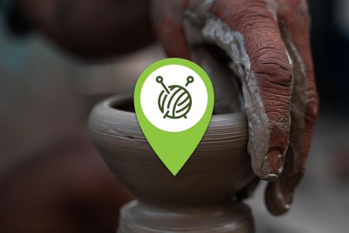 Bæredygtigt og håndlavet