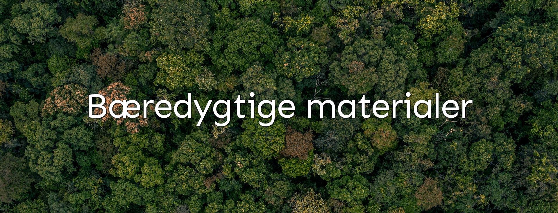 Bæredygtige materialer