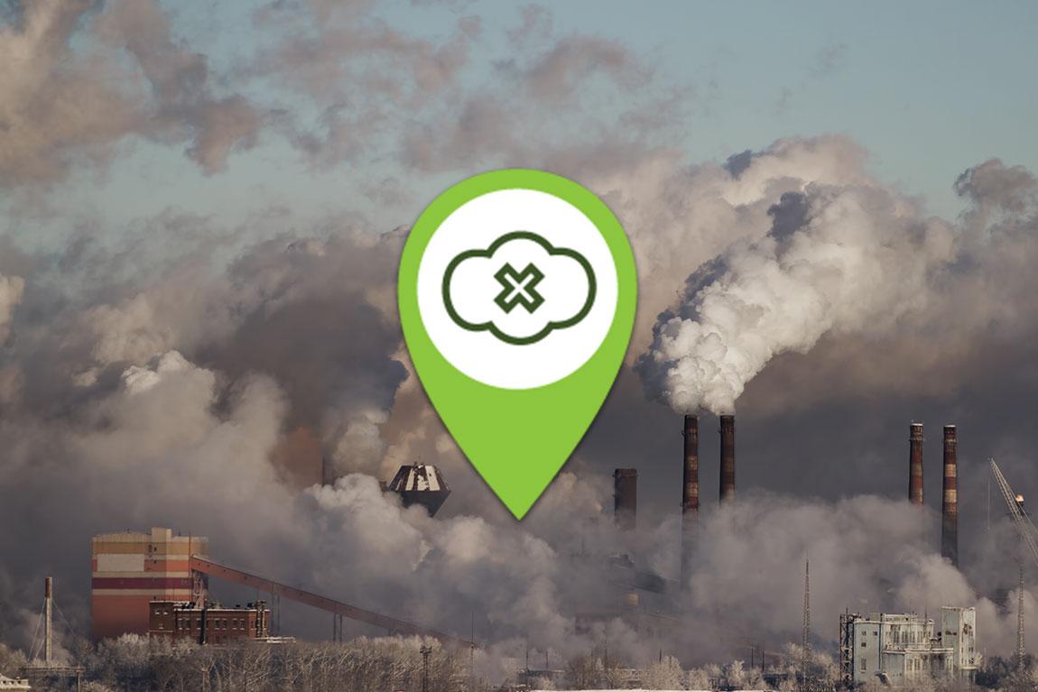 Reduceret forurendende stof